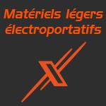 materiel leger electroportatif